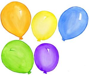 five-balloons